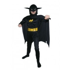 Карнавальный костюм Бэтмена с мускулатурой, костюм Бэтмена, Snowmen, Е70842