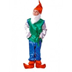 Карнавальный костюм Гном, костюм гномика, Батик