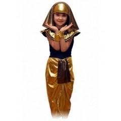 Детский карнавальный костюм Клеопатры, костюм египтянки, костюм египетской царицы, Карнавалия