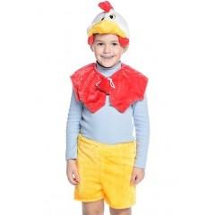 Детский карнавальный костюм Петуха, костюм Петушка из легкого меха, Остров Игрушки