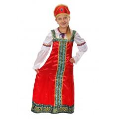 Карнавальный костюм Аленушка, Русская красавица, русский народный костюм, Карнавалия