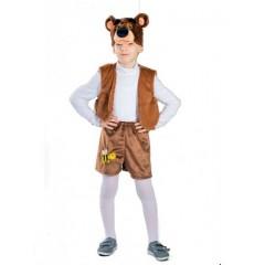 Карнавальный костюм Медведя, костюм Бурого мишки, плюш, Остров Игрушки