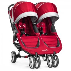 Детская прогулочная коляска для двойни премиум элит класса Baby  Jogger City Mini Double Бэби Джоггер Сити Мини Дабл