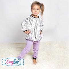 Детская пижама для девочки, Сердечки, кулир, 100% хлопок, MK220331