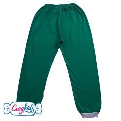 Детские штаны однотонные, кулир, 100% хлопок, на рост 110-116 см, Сладkids, Россия