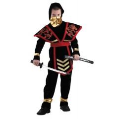 Карнавальный костюм Мастер Ниндзя, красный Ниндзя, Батик
