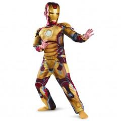 Карнавальный костюм Железный человек с мускулатурой, Iron Man