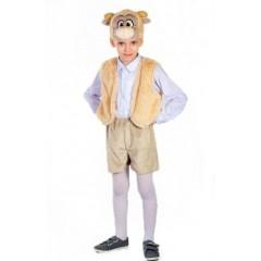 Карнавальный костюм Козленок, Костюм Козленка, костюм козлика для мальчиков, Остров Игрушки