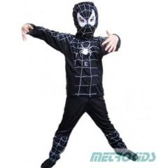 Костюм Черного человека-паука, карнавальный костюм черный Спайдермен 3