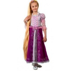 Карнавальный костюм Принцесса Рапунцель, костюм Рапунцель, Батик