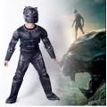 Карнавальный костюм Черная Пантера с мускулатурой