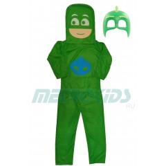 Карнавальный костюм Гекко, Gekko, Герои в масках, PJ Masks, MK11060