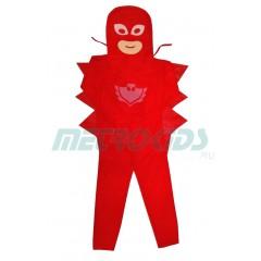 Карнавальный костюм Алетте, Owlette, Герои в масках, PJ Masks, MK11061
