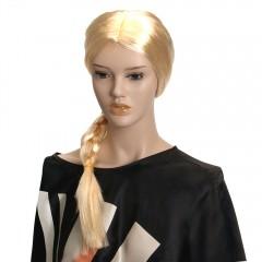 Карнавальный парик принцессы, с косой, МК11047