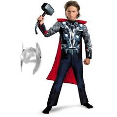 Карнавальный костюм Тора с мускулатурой, Thor, Мстители, MK11070