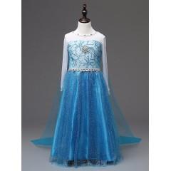 Карнавальное платье принцессы Эльзы, Холодное Сердце 2, MK11069