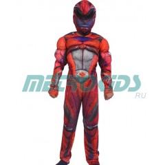 Костюм Красного Рейнджера с мускулатурой, Power Rangers, MK11026