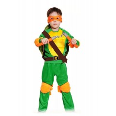 Детский костюм Черепашки-ниндзя Микеланжело, Michelangelo, MK55003