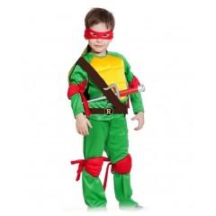 Детский костюм Черепашка-ниндзя Рафаэль, Raphael, MK55002