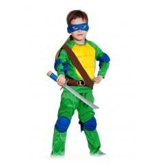 Детский костюм Черепашки-ниндзя, Леонардо, Leonardo, MK55001