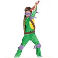 Детский костюм Черепашка-ниндзя Донателло, Donatello, MK55004