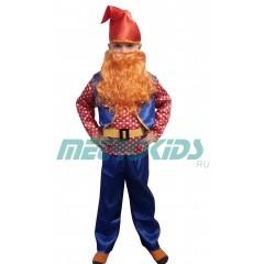 Детский карнавальный костюм Гнома, Гномик в горошек, МК11056