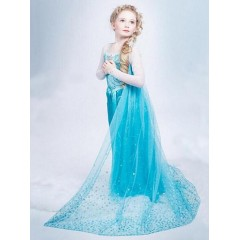 Карнавальное платье Эльзы, Elsa, Холодное Сердце, МК11027, Metrokids