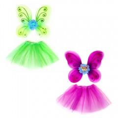 Карнавальный костюм Бабочки с цветком,  2 предмета, МК11038
