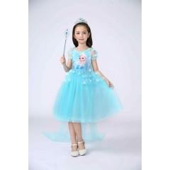 Детское нарядное платье принцесса Эльза, Холодное Сердце, MK11107
