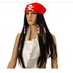 Карнавальный парик Пирата, Джек Воробей, MK11088