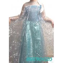 Карнавальное Платье Эльза , Холодное сердце, МК11058