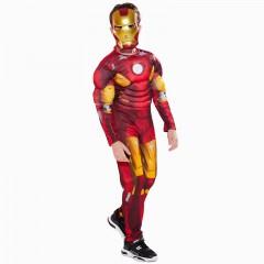 Карнавальный костюм Железный Человек, Mark 7,красная броня, MK11100