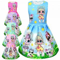 Детское карнавальное платье Кукла LOL Surprise, MK11099