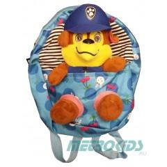 Детский рюкзак с игрушкой, Гонщик, Щенячий патруль,Chase, Paw Patrol, MK11096