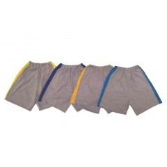 Детские шорты с лампасами, 100% хлопок, кулир, Россия, MK22449