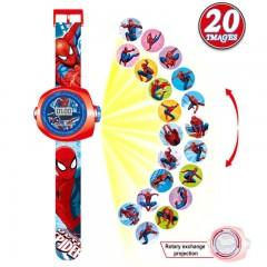 Детские часы с проектором Человек Паук, MK11101