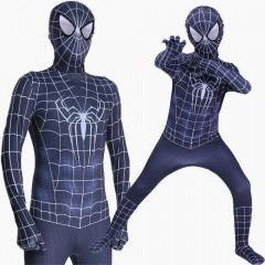 Костюм Новый Черный Человек-Паук, Black Spider-Man, MK11074