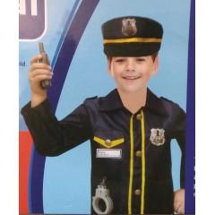 Детский костюм Полицейского с аксессуарами, МК11072