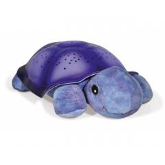 Звездная черепаха, Звездная черепашка, cветильник-проектор звездного неба,Twilight Turtle, цвет фиолетовый, CloudB