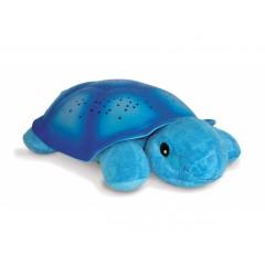 Светильник-проектор звездного неба Черепашка, Звездная черепаха, цвет голубой, СloudB